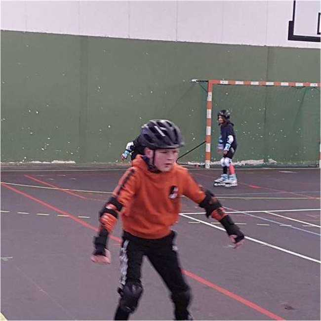 Cap Sports : photos animations Rollers et Tchoukball photocompressee6